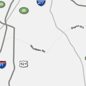 Traffic Condition Maps North Carolina Charlotte Region
