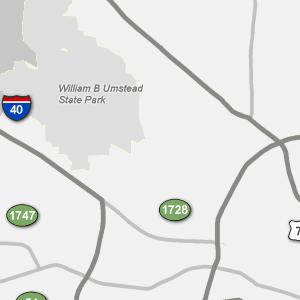 Traffic Condition Maps North Carolina Raleigh Region