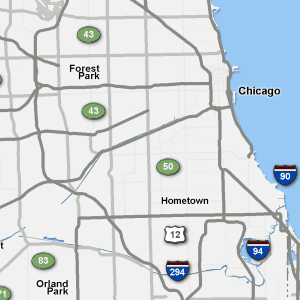 Traffic Map Chicago Traffic | AM 560 The ANSWER   Chicago, IL Traffic Map Chicago