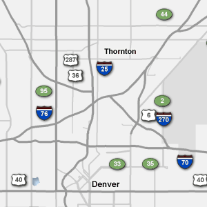 Traffic Map Colorado.Sigalert