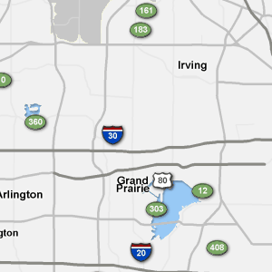 Dallas Real Time Traffic Map.Sigalert