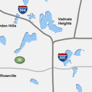 St Paul Traffic Map.Traffic Condition Maps Minnesota St Paul Region