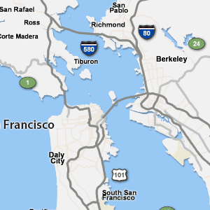 Richmond Traffic Map.San Francisco And Bay Area Traffic Abc7news Com