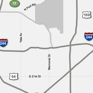 Traffic Condition Maps Oklahoma Tulsa Region