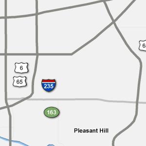 Traffic Condition Maps - Iowa - Des Moines region
