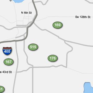 Traffic Condition Maps - Washington - Seattle region