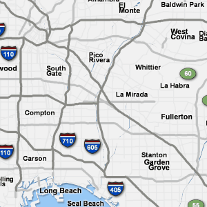 Map Of California 5 Freeway.Sigalert