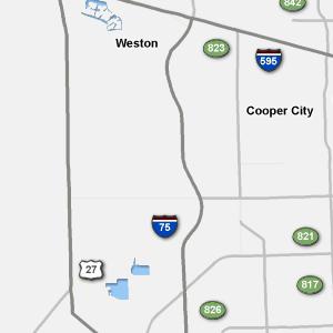Traffic Condition Maps Florida Miami Region
